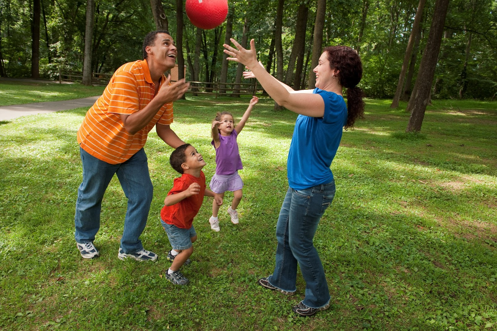 Kids Playing Outside This week get outside and playFamily Playing Sports Together